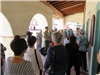 Our Seniors enjoy historical tours like this one at San Juan Batista Mission.