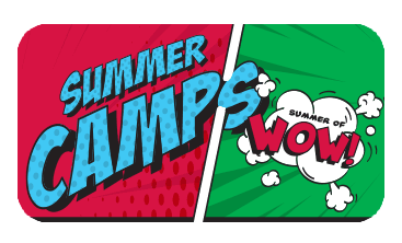 Comic book text of Summer Camps