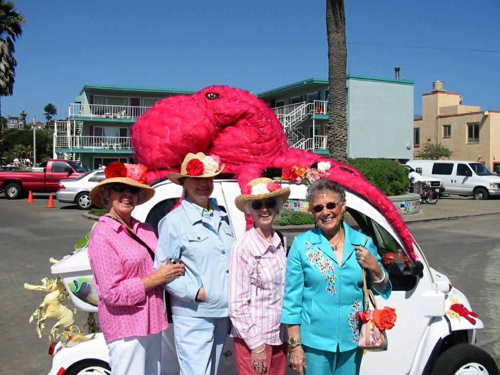 These ladies had a great time at the Begonia Festival