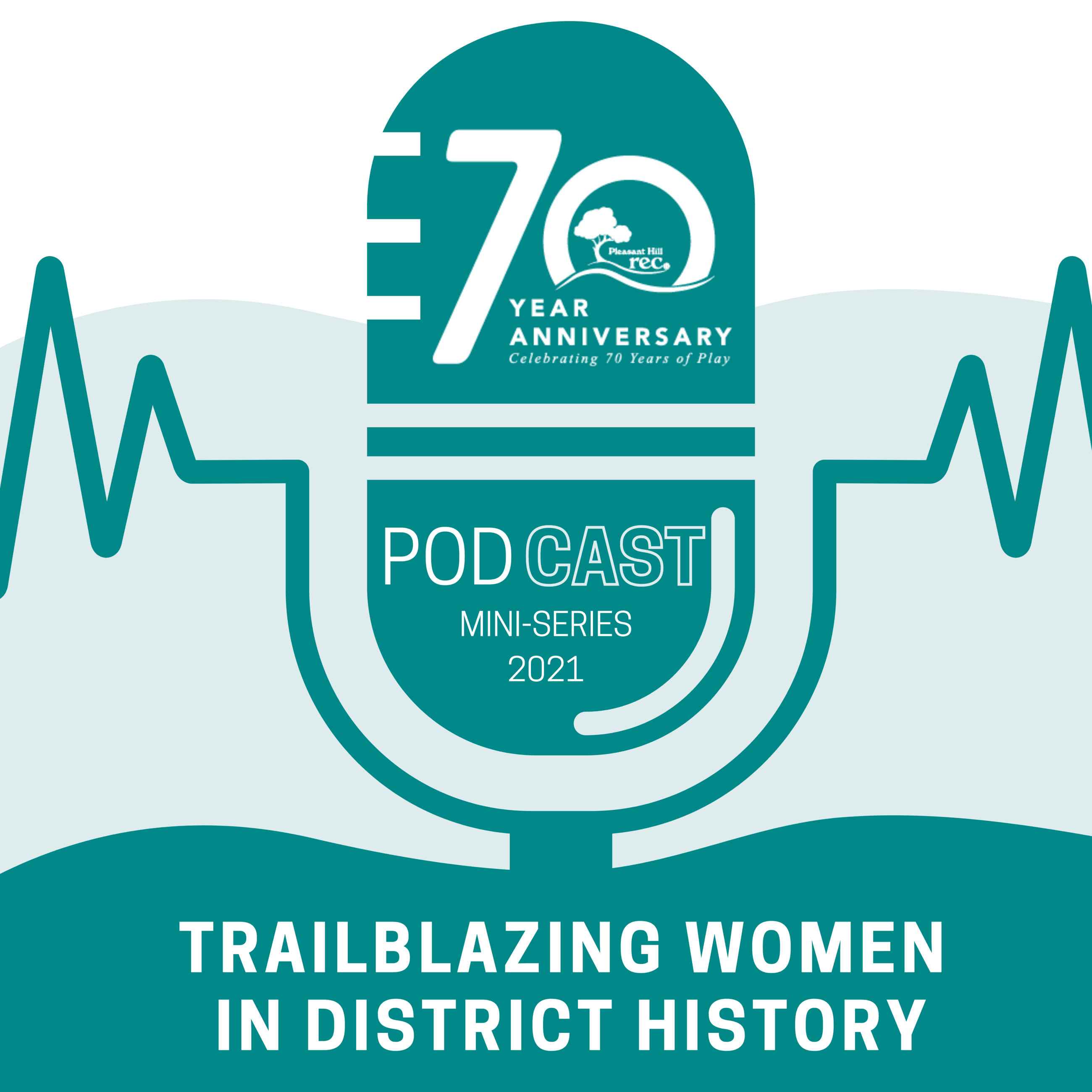 70th Anniversary Podcast Graphic