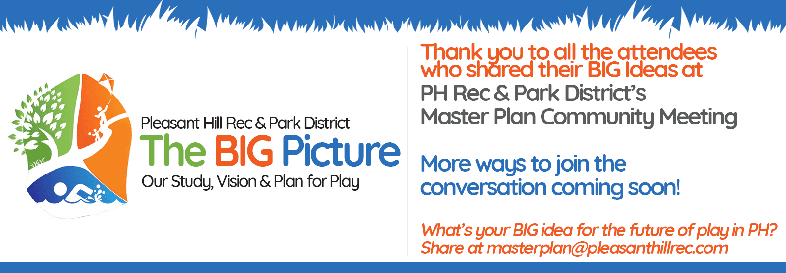 Thank You For Attending District Master Plan Community Meeting